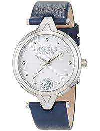 Versus Versace Reloj Analogico para Mujer de Cuarzo con Correa en Cuero  SCI090016 8ddd5e2877c4