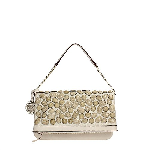 SCERVINO Street Clutch Bag MARGUERITE Off White