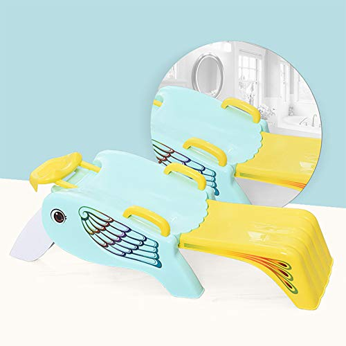 ZZYYZZ Baby Shampoo Stuhl Faltbarer Kindershampoo-Stuhl Extra großes Shampoo-Artefakt,Blue -