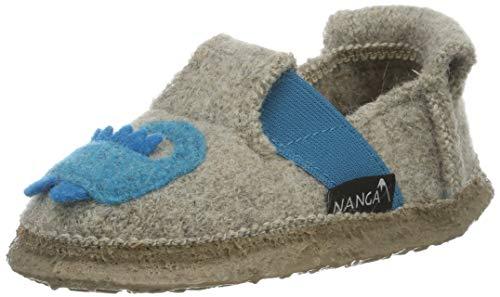 Nanga Jungen Funny Croco Pantoffeln, Beige (Natur 83), 32 EU