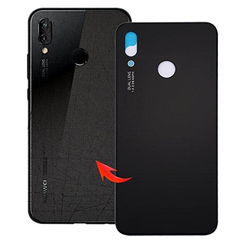 Handy-Ersatzteile, iPartsBuy für Huawei P20 Lite Rückseite (Farbe : Schwarz)