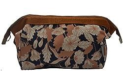 Adorsy Women/Girls Cotton Cosmetic Bag (B01)