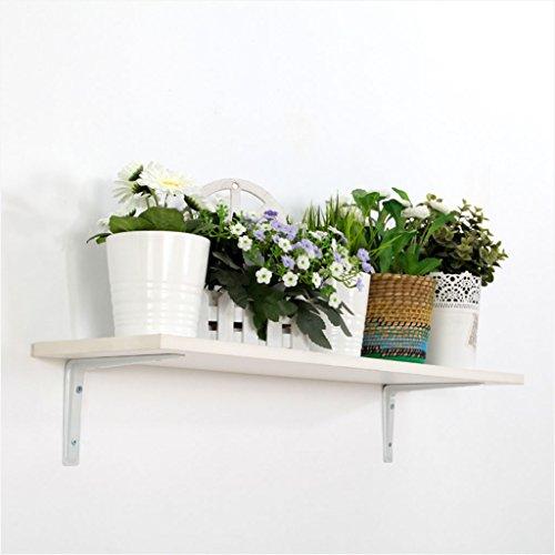 LTJTVFXQ-shelf Wandregal Rack Laminat Spacer Bücherregal Dekorative Platten Weiße Blume Stehen Niedrigen Formaldehyd -