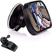 Baby Car Mirror for Back Seat,ShowTop Rear View Facing Back Seat Mirror Child Safety Rearview 360 Degree Adjus