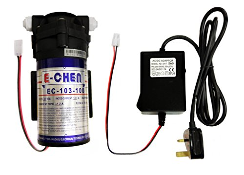 Finerfilters E-Chen 100GPD Reverse Osmosis RO Booster Pump