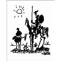 Pablo Picasso – Don Quijote Artistica di Stampa (27,94 x 35,56 cm)