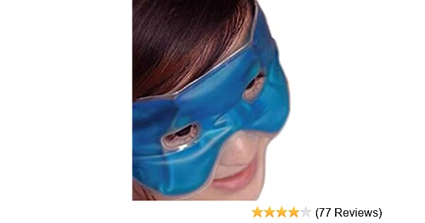 Headache Relief Eye Mask Hot Cold Cooling Soothing Relaxing Gel Filled Migrane Amazon Co Uk Kitchen Home