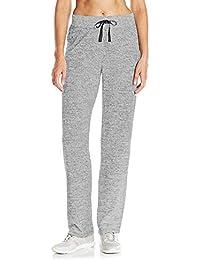 3cd9c34f19c SUNNYME Femme Pantalon Jogging de Sport Survêtements Gym Pants Yoga Taille  Haut avec Poches