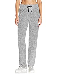 SUNNYME Femme Pantalon de Sport Rayure Pants Grande Taille Evasé Bas Casual  Chic Jogging Yoga S 9607e4e590e
