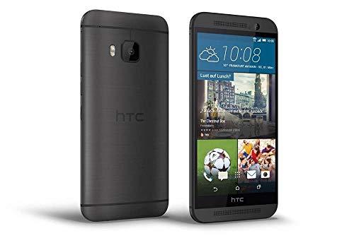 HTC One M9 Smartphone (5 Zoll (12,7 cm) Touch-Display, 32 GB Speicher, Android 5.0.2) dunkelgrau (Zertifiziert und Generalüberholt) -
