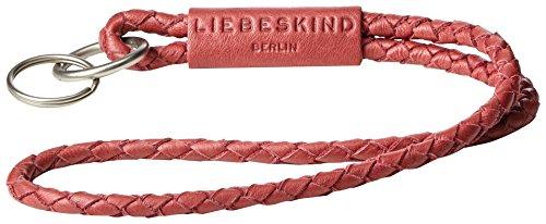 Liebeskind Berlin Damen Lolaxsw7 Core Schlüsselanhänger (1x2x32 cm (B x H T)) rot (phonebox red) (Red Schlüsselanhänger Leder)