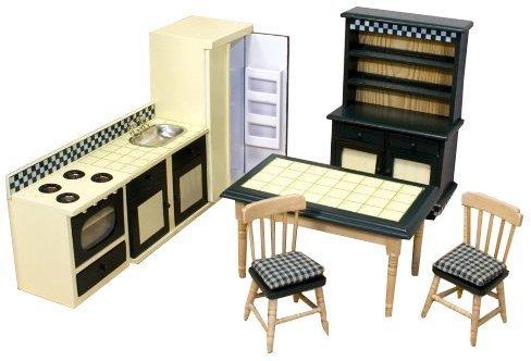 Melissa & Doug - 12582 - Puppenhausmöbel - Küchenausstattung