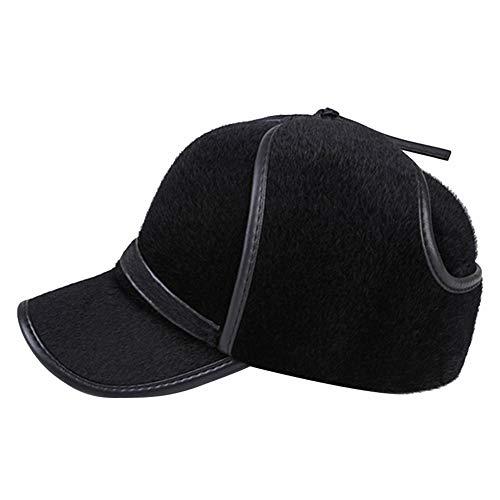 AIEOE - Sombrero Hombre Invierno Trapper Cálido Forro