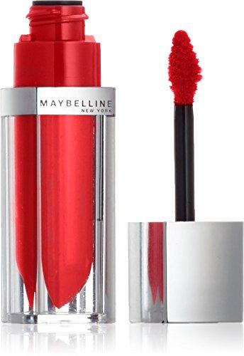 Maybelline New York Make-Up Lipgloss Color Sensational Elixir Signature Scarlet / Kräftiges Rot für farbintensive und gepflegte Lippen, 1 x 5 ml -