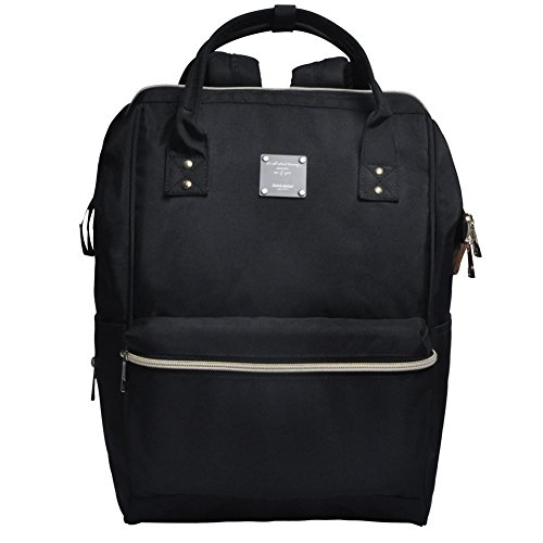 bebamour-unisex-casual-backpack-with-changing-bag-functional-backpack-for-men-and-women-black