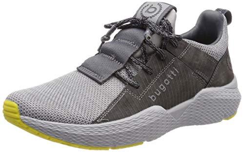 bugatti Herren 341730616900 Slip On Sneaker, Grau, 43 EU