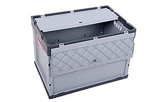 klappbox mit deckel 5er set profi faltbox auer 87 liter fbd 64 42 kunststoffbeh lter. Black Bedroom Furniture Sets. Home Design Ideas