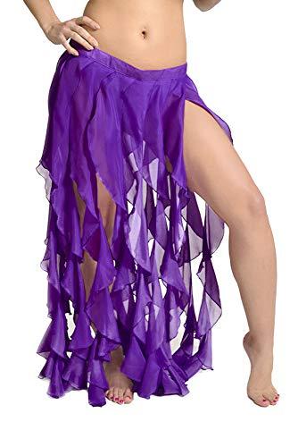 Arsimus Gypsy Gürtel - Violett - - Tänzerin Orientale Kostüm
