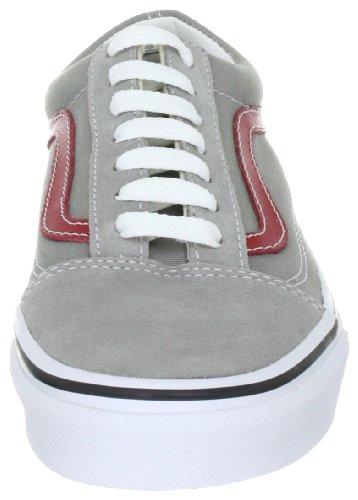 Vans U OLD SKOOL Flint VKW6606, Sneaker unisex adulto Grigio (Grau (Flint Grey/Chil))