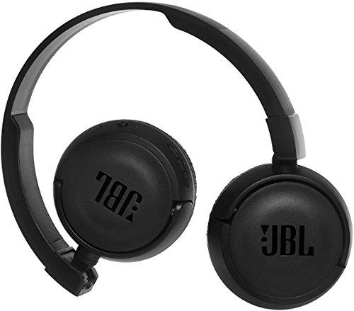 JBL T450BT Kabelloser On-Ear Bluetooth Kopfhörer mit Integrierter Musiksteuerung und Mikrofon Kompatibel mit Apple und Android Geräten -Schwarz - 2
