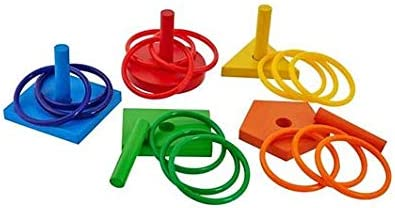 Eduedge Wooden Aim N Toss Game - Multi Color