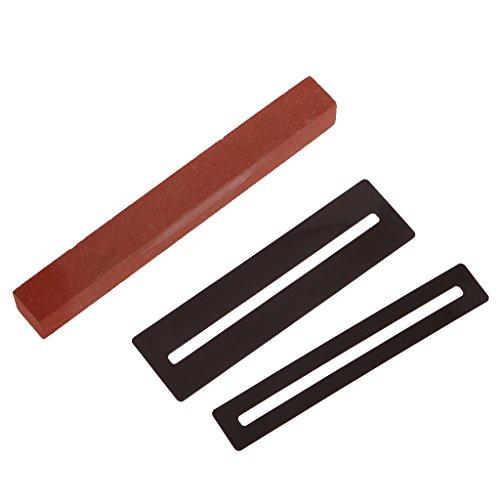 Bundes-tool (Gazechimp Gitarre Repair Tool Luthier Tool Fret Schleif-Set Fret Protector Guards Für Gitarre Bass Bund-Reparatur-Tools)