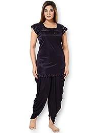 AV2 Women's Satin Night Suit Set