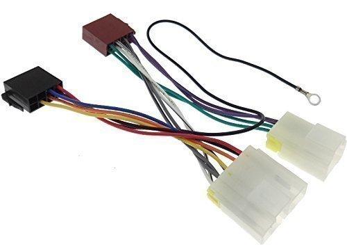 NISSAN (1) Radioadapter Radio Adapter Stecker DIN ISO Anschlußkabel Kabelbaum (Nissan Altima Auto Radio)