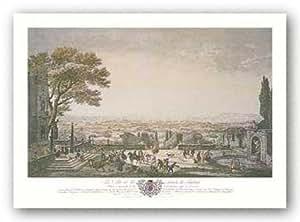 La Ville Et La Rade De Toulon de Joseph Vernet Tirages d'Art Poster
