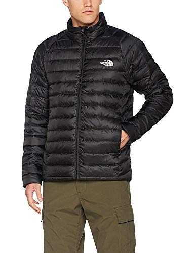The North Face, M Trevail Jacket, Giacca, Uomo, Nero (Tnf Black), XL