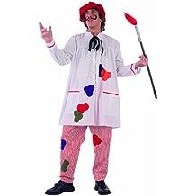 Limit Sport MA791 - Disfraz de pintor para hombre (talla L, incluye camisa, pantaln, sombrero y pincel)
