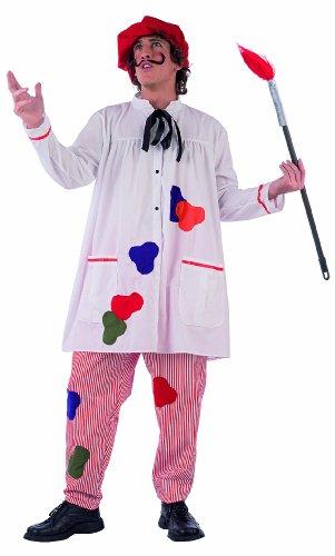 limit-sport-ma791-disfraz-de-pintor-para-hombre-talla-l-incluye-camisa-pantaln-sombrero-y-pincel
