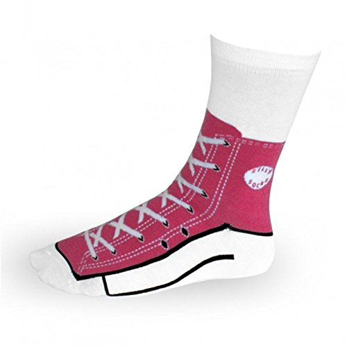 Sneaker Socken in pink - Turnschuh Strümpfe Sport im Paar