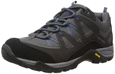 Karrimor Mens Solva Low Trekking and Hiking Shoes K694-BKB-149 Black/Blue 6 UK, 39 EU, 7 US