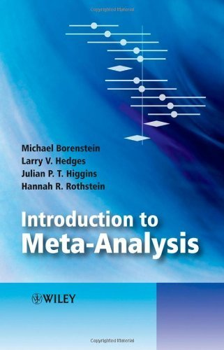 Introduction to Meta-Analysis INTRODUCTION TO META-ANALYSIS BY Borenstein, Michael( Author ) on Apr-01-2009 Hardcover