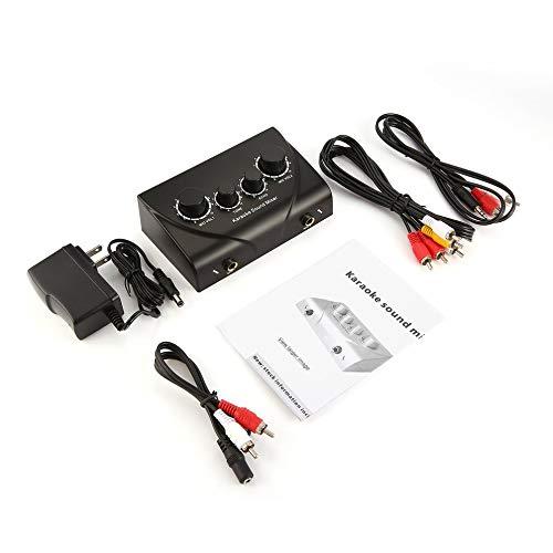 Karaoke-Sound-Mixer Professionelles Audiosystem Tragbarer Mini-Digital-Audio-Sound Karaoke-Echo-Mixer-System (Karaoke-sound-system)