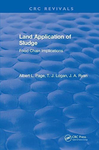 Land Application of Sludge (English Edition)