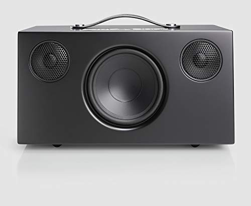 Audio Pro Addon C10 Altavoz (80 Watt, Multiroom, Stereo, AirPlay, WiFi, Bluetooth, Music Apps (Spotify, Tidal, Deezer), Radio por Internet como TuneIn, App) Color Negro