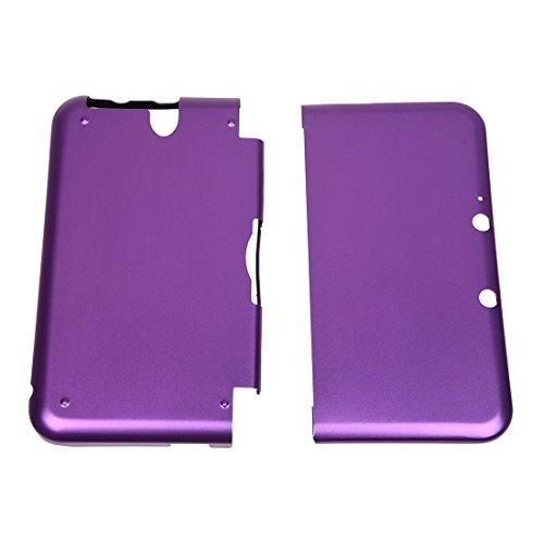 TOOGOO(R) Aluminium Tasche Case Cover Schutzhuelle fuer Nintendo 3DS XL LL Lila