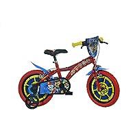 Dino Bikes 614-PW Paw Patrol Bike, Red, 14-Inch