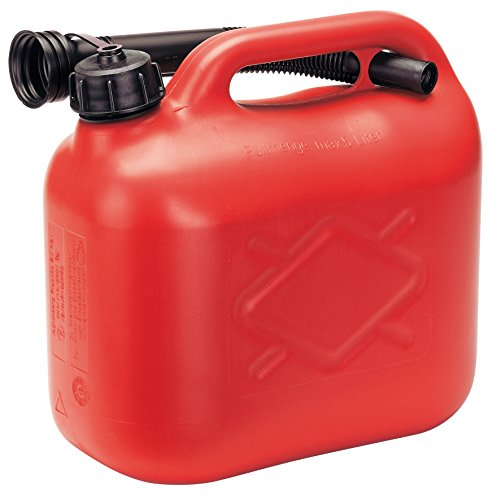 Draper 82692 5l plastic fuel can - red