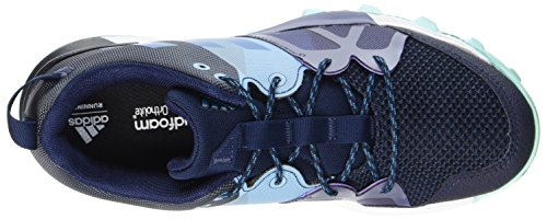 adidas Kanadia 8.1 TR, Chaussures de Trail Femme Bleu (Collegiate Navy/Mystery Petrol/Energy Aqua)