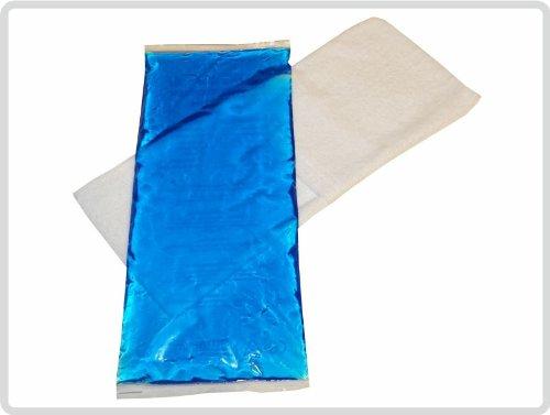 Kalt Warm Kompresse (12x29 cm) mit Frotteebezug, weiß - Kompressen Kompresse Coolpack Kühlkissen -