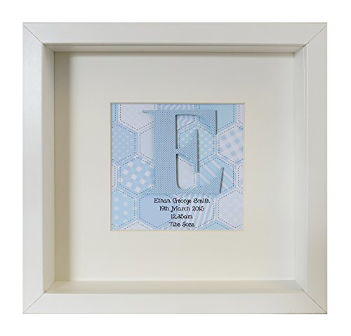 en Baby 's erste Box Rahmen blau ()