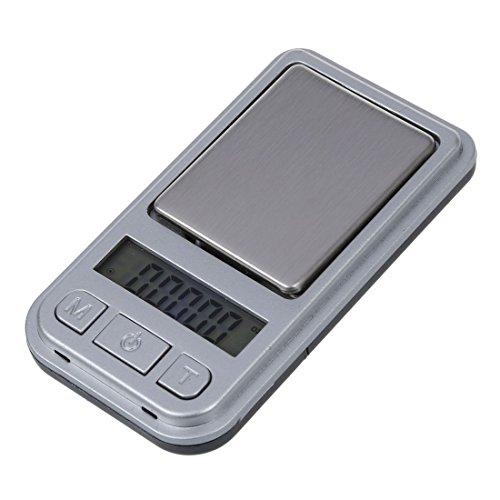Cikuso 200G-0,01G Digital Mini Tasche Waage Schmuck Waage Feinwaage Praezisionswaage