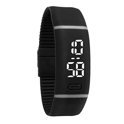 Bluestercool Unisex Kautschuk Datum LED Uhr - Sport Armband digitale Armbanduhr