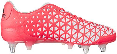 adidas Kakari Light SG, Scarpe da Rugby Uomo Rosso (Rojo (Rojo (Rojimp / Negbas / Ftwbla)))