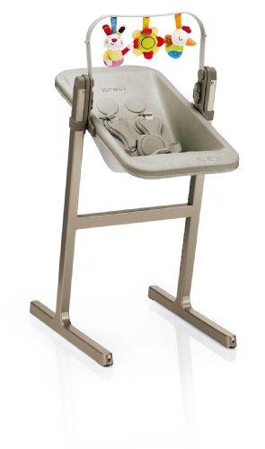 Slex Evo 223067 Brevi Wippenaufsatz zu Hochstuhl, Made in Italy, sand beige