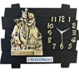 Designer Wall Clock / Watch 13x11 INCHES...