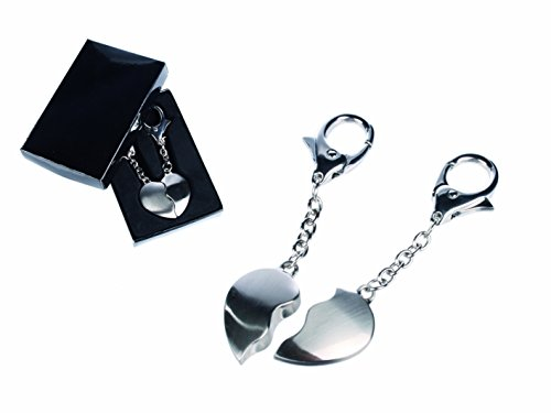 Great Gifts His and Hers Forever Heart Keyring - Gents, Mens, Mans, His, Lady, Ladies, Women, Her Novelty, Fun, Birthday, Christmas, Xmas Gift, Present Idea